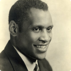 Paul Robeson - is a versatile and particularly the celebrated black people of America. 240x240_bio_robeson